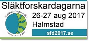 Släktforskardagarna 2017 i Halmstad