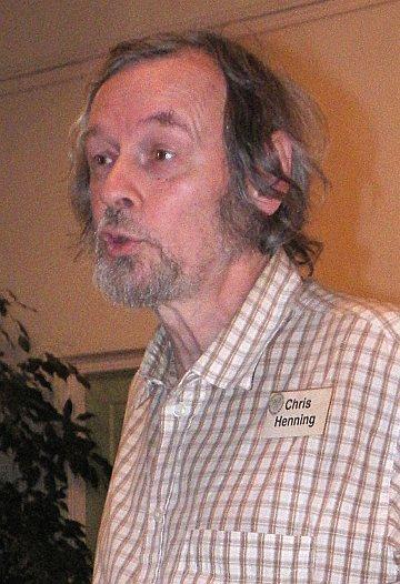 Chris Henning, Genealogiska Föreningen  Foto: Åke Dahlqvist